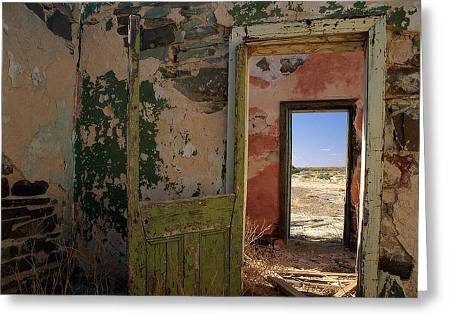 A Doorway Leads To Another Doorway Greeting Card