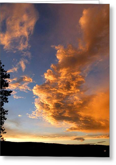 A Dramatic Summer Evening 1 Greeting Card by Will Borden