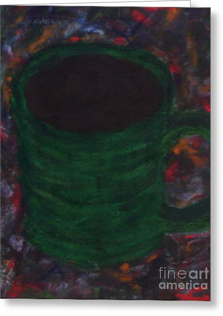 A Fresh Cup Of Daydreams Greeting Card
