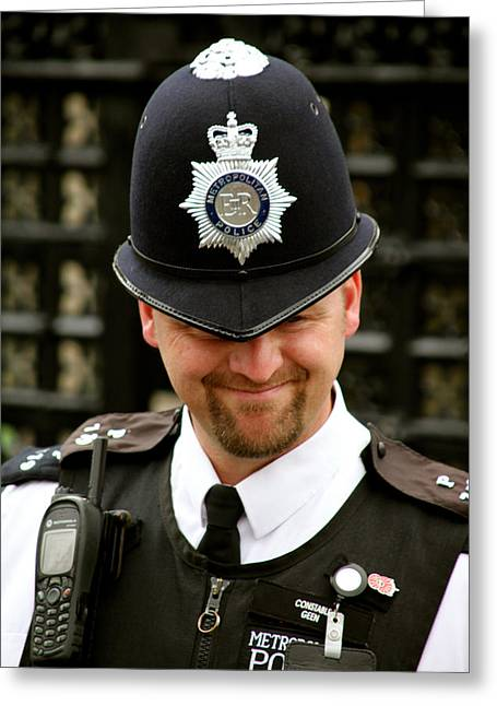 A Happy Plod Greeting Card by Jez C Self