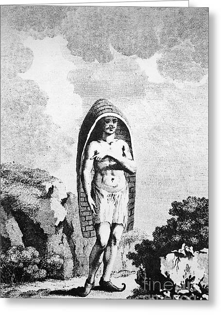 A Hindu Peasant Greeting Card