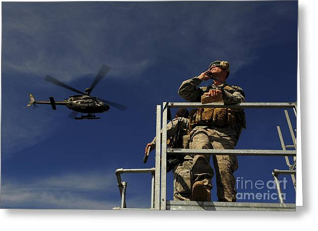 A Joint Terminal Attack Controller Greeting Card by Stocktrek Images