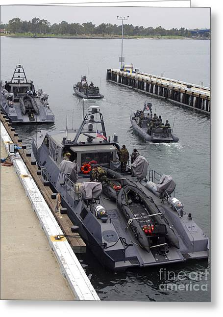 A Mk-v Special Operations Craft Tied Greeting Card