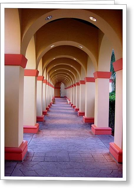 A Most Pleasant Passageway Greeting Card
