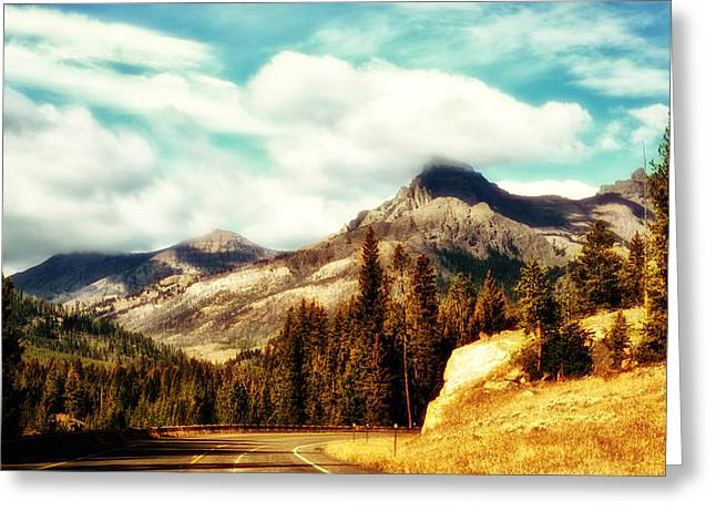 Greeting Card featuring the photograph A Mountain Drive by Kelly Reber