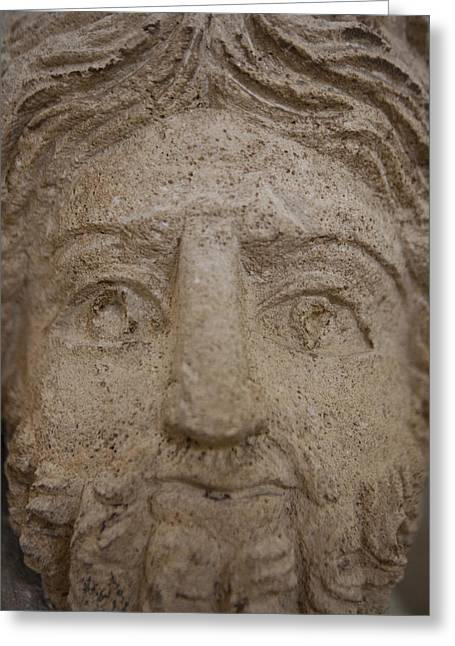 A Nabatean Bust Of Atargatis Greeting Card by Taylor S. Kennedy
