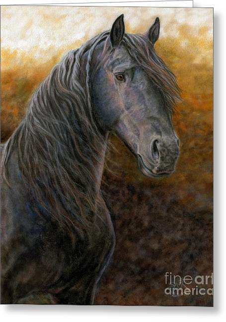 Greeting Card featuring the painting A Natural Beauty by Sheri Gordon