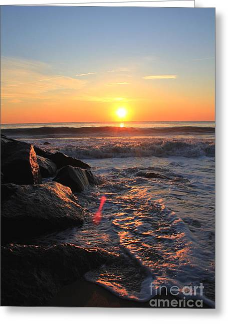 A New Day Greeting Card by Everett Houser