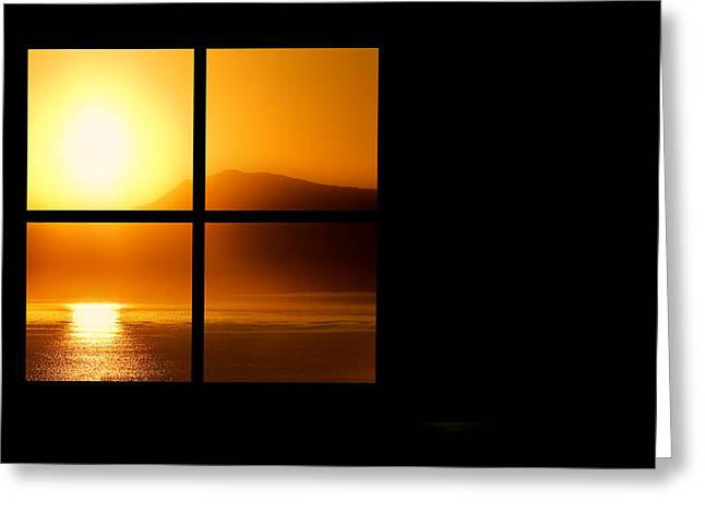 Greeting Card featuring the photograph A New Day by Katy Breen