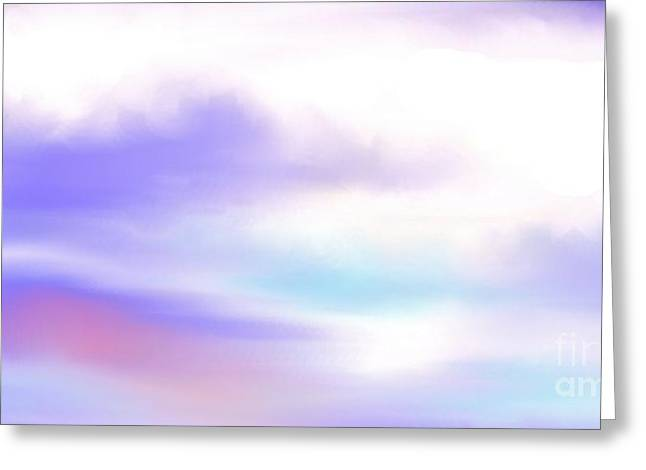 Greeting Card featuring the painting A New Day by Lori  Lovetere