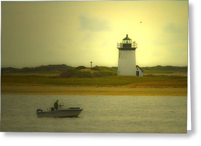 A New England Moment Greeting Card by Karol Livote