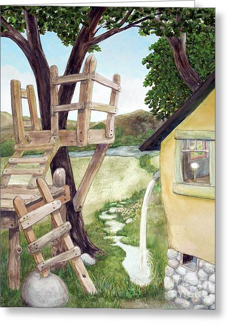 A New Perspective Greeting Card