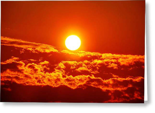 A New Sun Is Born Greeting Card by Metro DC Photography