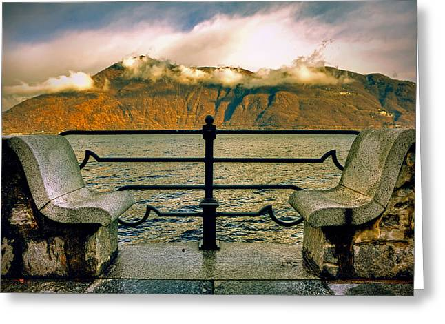 A Place For Two Greeting Card by Joana Kruse