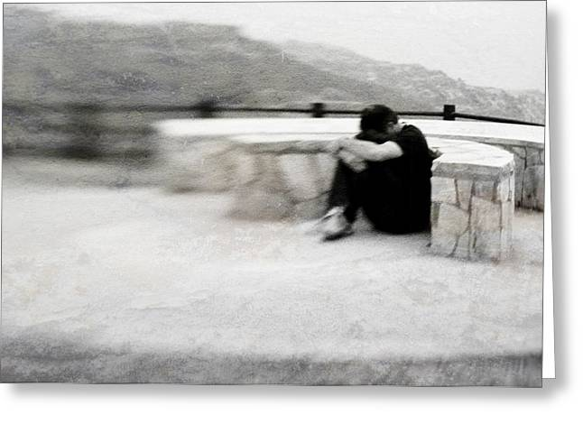 Greeting Card featuring the photograph A Place To Be Alone by Kevin Bergen