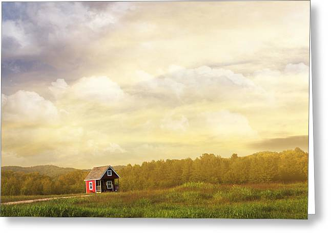A Place To Call Home Greeting Card by Amy Tyler