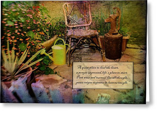 A Prayer Expressed Greeting Card