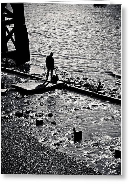 Greeting Card featuring the photograph A Quiet Moment... by Lenny Carter