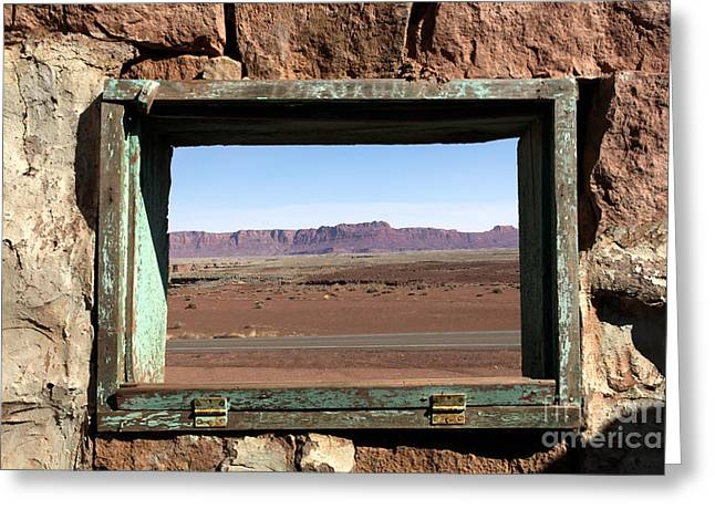 Greeting Card featuring the photograph A Room With A View by Karen Lee Ensley