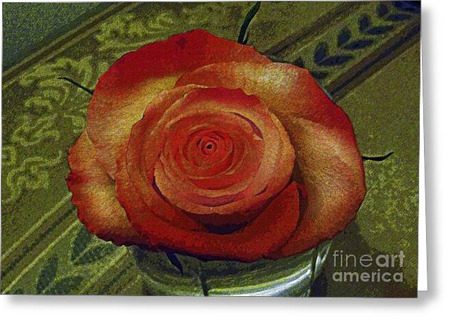 A Rose By Any Other Name Greeting Card by Al Bourassa