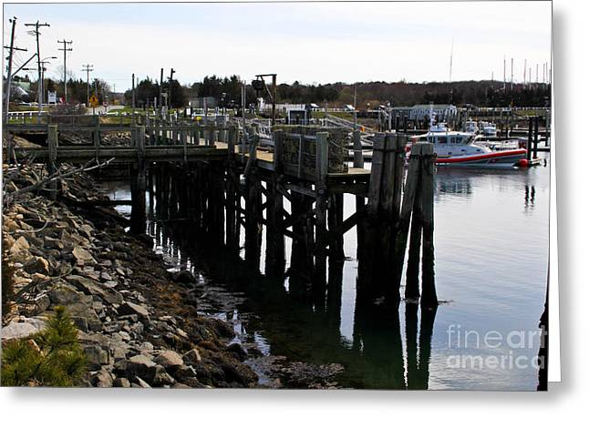A Safe Harbor Greeting Card by Extrospection Art