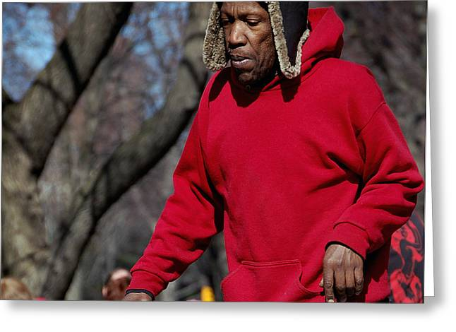 A Skater In Central Park - 2 Greeting Card by RicardMN Photography