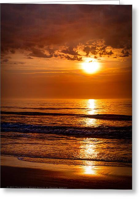 A Slice Of Paradise Greeting Card by Dustin Abbott