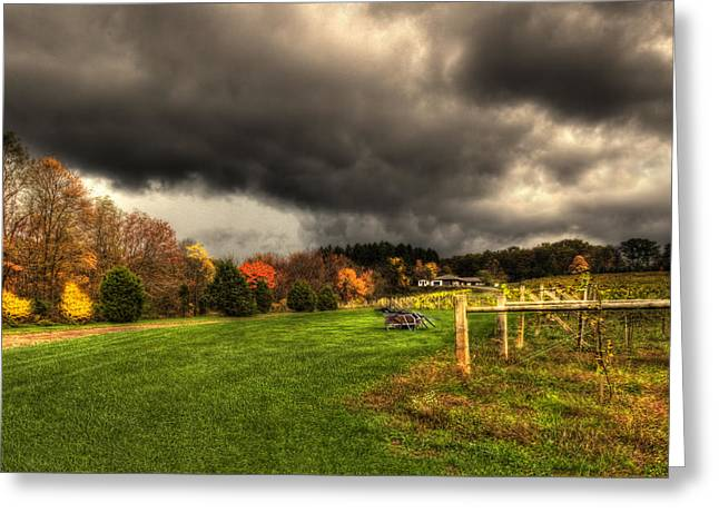 Storm Is Brewing Greeting Card