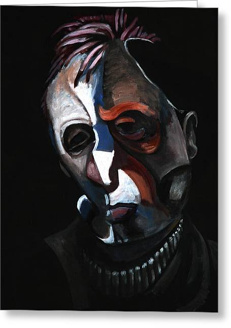 A Study For A Portrait Of Francis Bacon IIi Greeting Card
