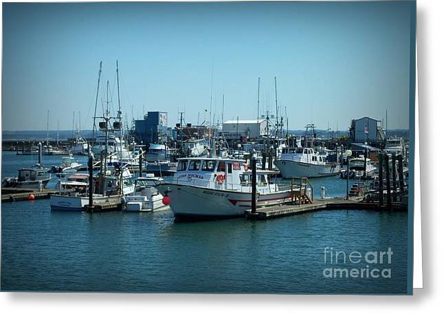 A Sunny Nautical Day Greeting Card
