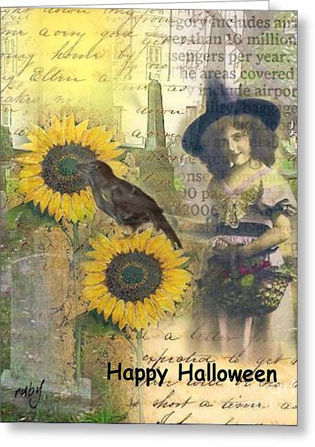 A Sunny Witch Day Greeting Card