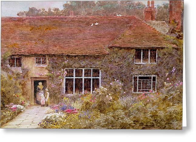 A Surrey Cottage Greeting Card