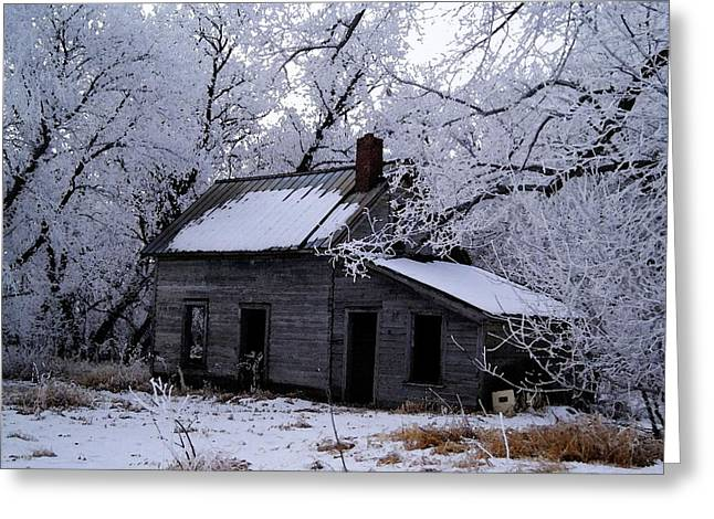 Greeting Card featuring the photograph A Time Forgotten by Steven Clipperton
