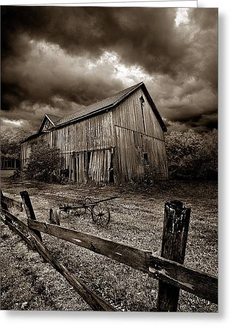 A Time Past Greeting Card by Phil Koch