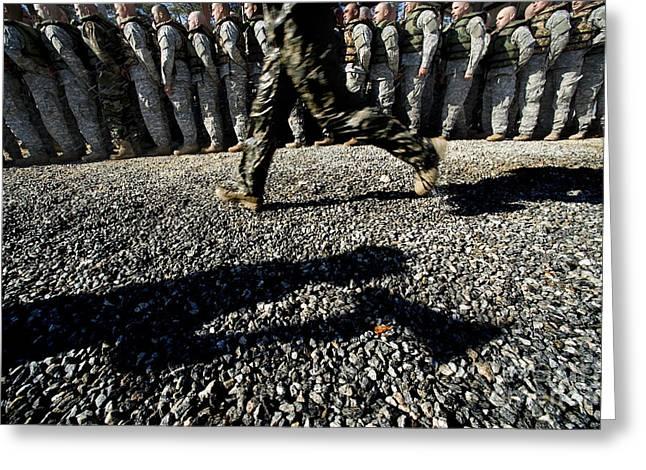 A U.s. Army Ranger School Instructor Greeting Card