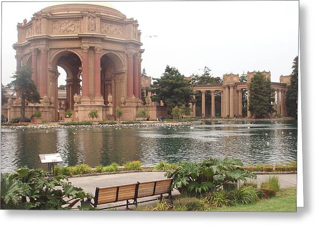 A View Of Palace Of Fine Arts Theatre San Francisco No One Greeting Card