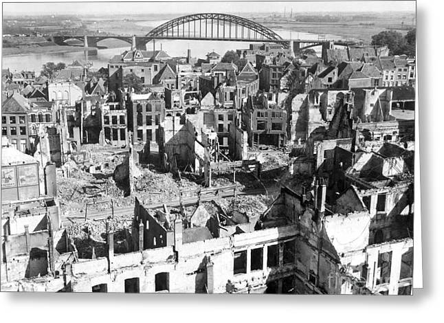 A View Of The City Of Nijmegen Greeting Card by Stocktrek Images