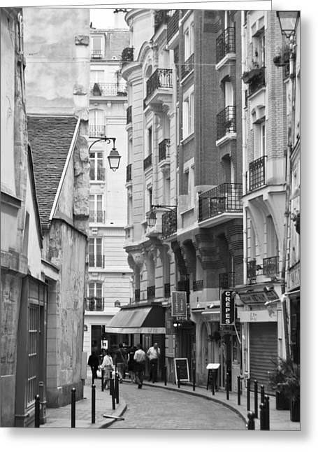 A Walk About Paris Greeting Card