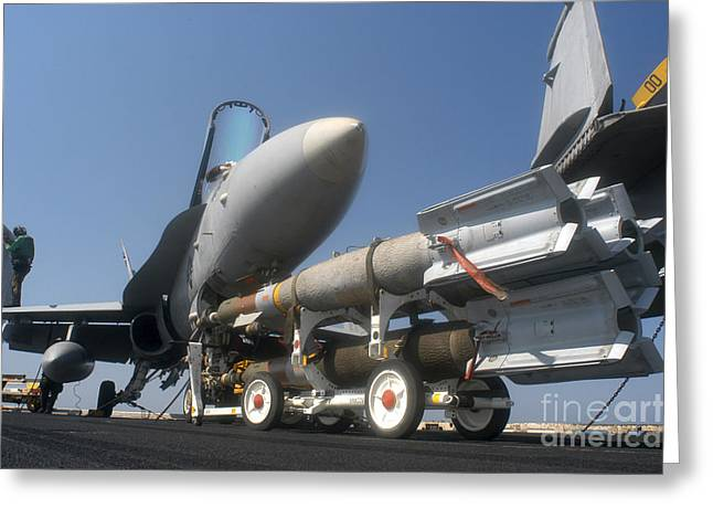 A Weapons Skid Carrying 500-pound Greeting Card