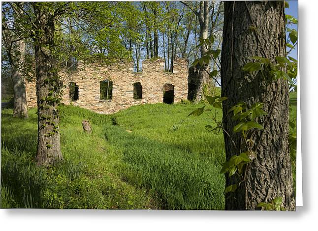 Abandoned Cider Mill Greeting Card by Jim Moore