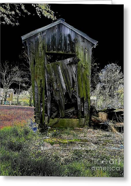Abandoned Greeting Card by Cindy Roesinger