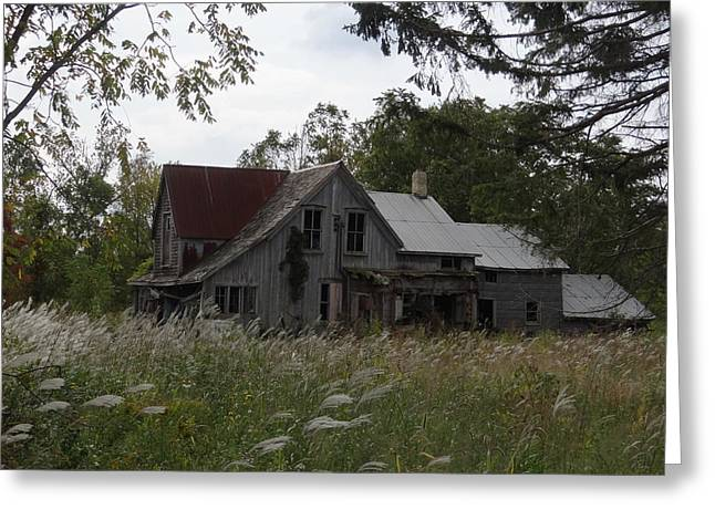 Abandoned Farmhouse 1 Greeting Card by Bruce Ritchie