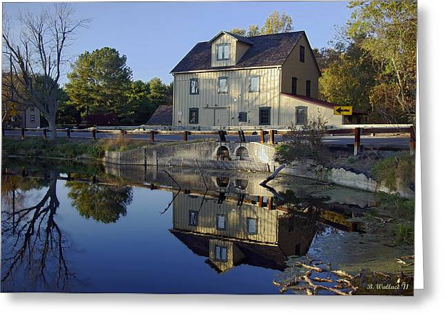 Abbotts Mill Greeting Card by Brian Wallace