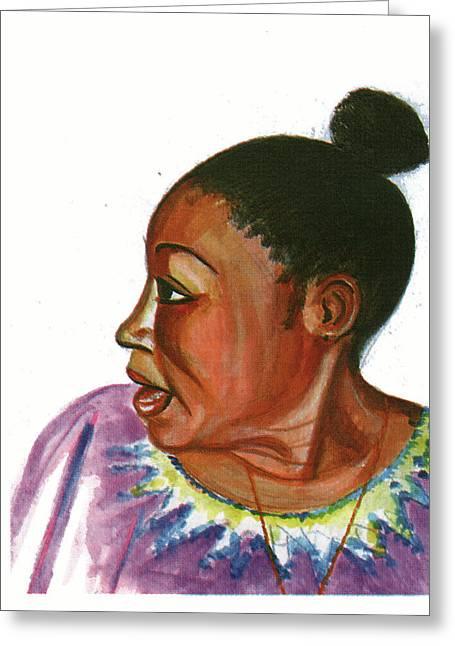 Abeti Masikini Greeting Card