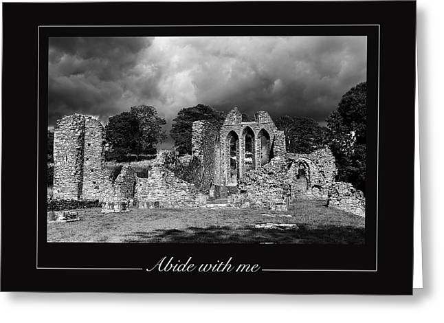 Abide With Me Greeting Card by David McFarland