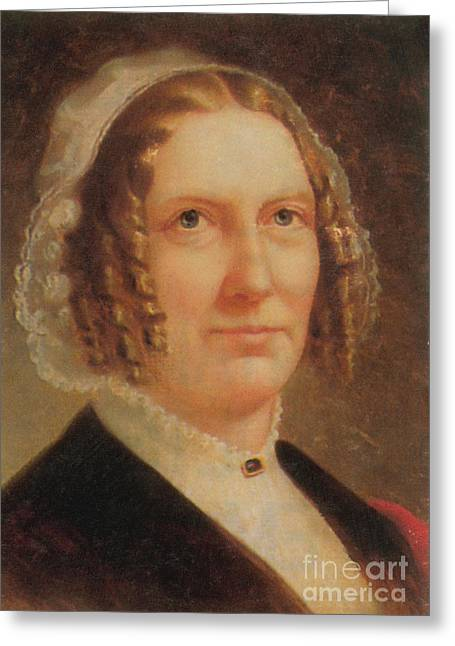 Abigail Fillmore Greeting Card by Photo Researchers