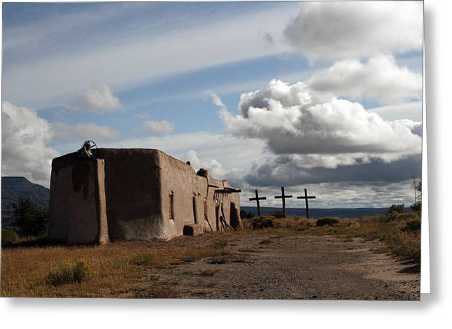 Abiquiu Morada Greeting Card