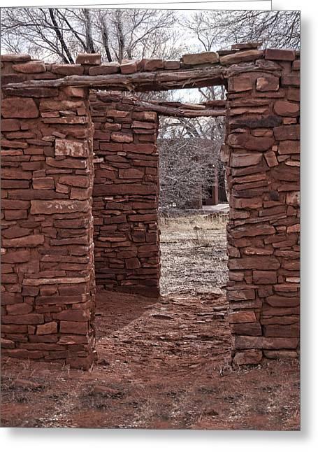 Abo Ruins No 1 Greeting Card by Paul M Littman