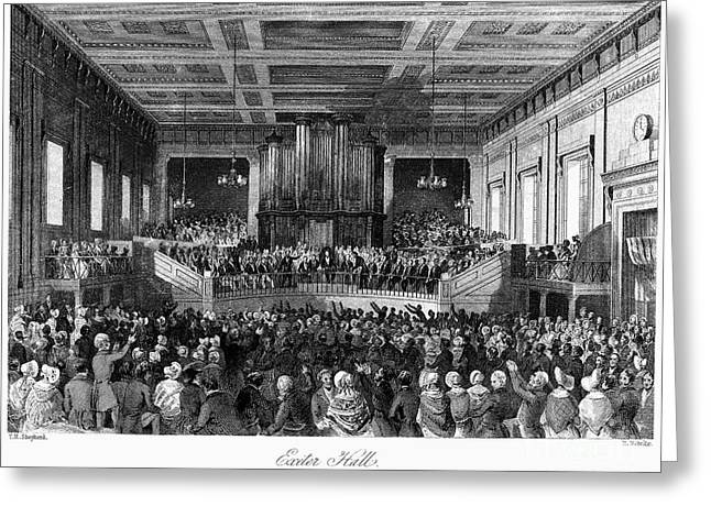 Abolition Convention, 1840 Greeting Card