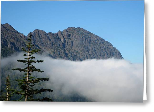 Above The Clouds Greeting Card by Kathy Long